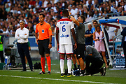 Guedes Filho Marcelo of Lyon during the French championship L1 football match between Olympique Lyonnais and Amiens on August 12th, 2018 at Groupama stadium in Decines Charpieu near Lyon, France - Photo Romain Biard / Isports / ProSportsImages / DPPI