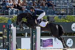Teran Tafur Roberto, COL, Brilliant du Rouet<br /> Furusiyya FEI Nations Cup Jumping Final - Barcelona 2016<br /> © Hippo Foto - Dirk Caremans<br /> 25/09/16