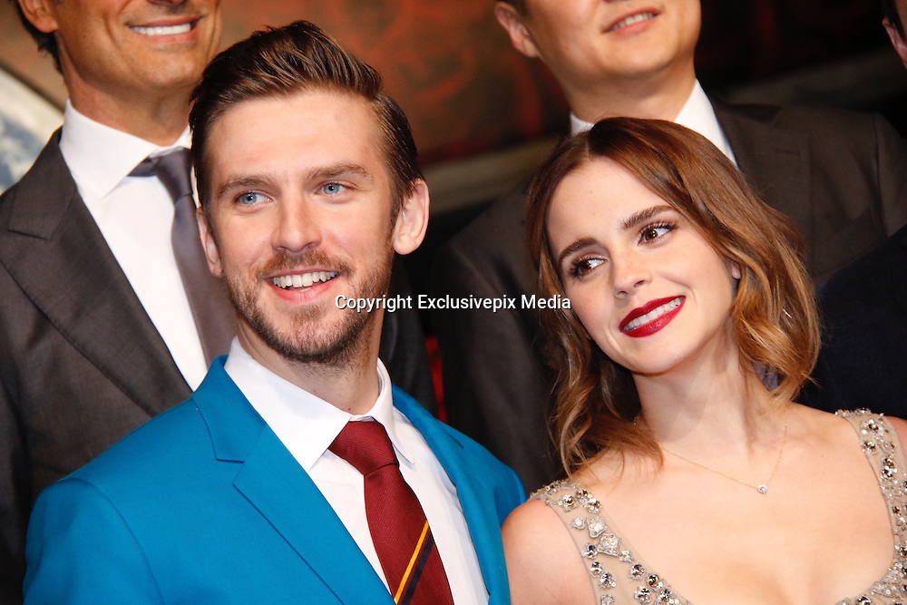 SHANGHAI, CHINA - FEBRUARY 27: <br /> <br /> British actor Dan Stevens and British actress Emma Watson attend the premiere of American director Bill Condon\'s film \&quot;Beauty and the Beast\&quot; at Walt Disney Theatre on February 27, 2017 in Shanghai, China. <br /> &copy;Exclusivepix Media