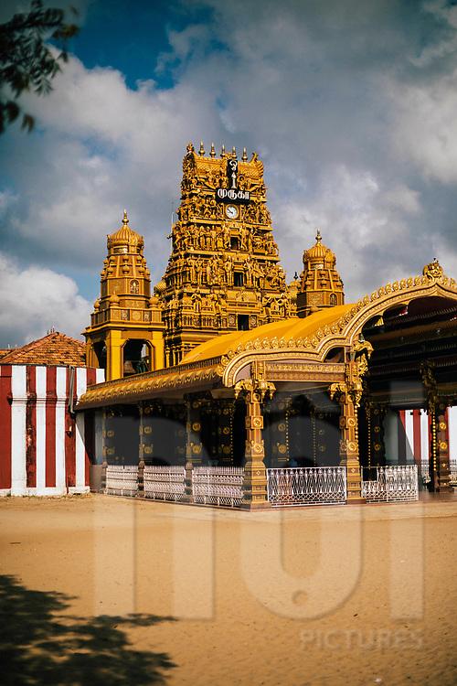 The Nallur Kandaswamy temple, one of Jaffna's most sacred Hindu sites, Jaffna, Sri Lanka, Asia