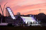 Practice Day at Air & Style LA at the Rose Bowl in Pasadena, CA. ©Brett Wilhelm/ESPN