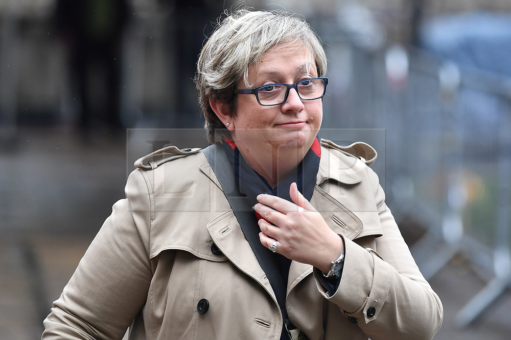 © Licensed to London News Pictures. 21/10/2019. London, UK. SNP MP JOANNA CHERRY is seen in Westminster, London. Last week Parliament sat on a Saturday for the first time since 1982, but failed to vote on Boris Johnson's new Brexit deal. Photo credit: Ben Cawthra/LNP
