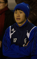Liverpool, England - Wednesday, December 5, 2007: Zenit St. Petersburg's substitute Lee Ho during the UEFA Cup Group A match against Everton at Goodison Park. (Photo by David Rawcliffe/Propaganda)