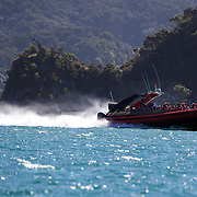 The Excitor fast boat run by .Awesome Adventures from Paihia, Bay of Islands. 15th New Zealand, November 2010. Photo Tim Clayton.