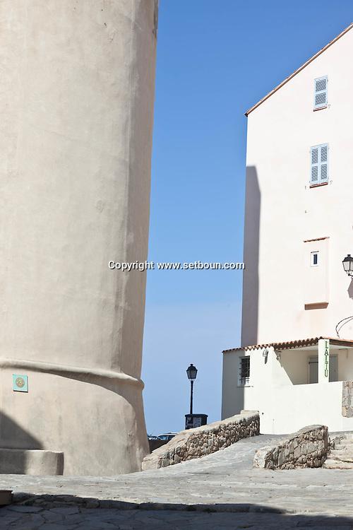 Corsica. France. Corsica, France, Citadel of Calvi, Fortified city