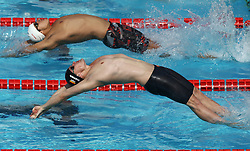 June 23, 2017 - Rome, Italy - Christina Diener (GER) competes in Men's 50m Backstroke during the international swimming competition Trofeo Settecolli at Piscine del Foro Italico in Rome, Italy on June 23, 2017..Photo Matteo Ciambelli / NurPhoto  (Credit Image: © Matteo Ciambelli/NurPhoto via ZUMA Press)