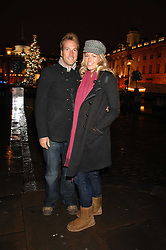 BEN FOGLE and his wife MARINA at a Winter Party to celebrate the opening of the Ice Rink at Somerset House, London in association with jewellers Tiffany on 20th November 2007.<br /><br />NON EXCLUSIVE - WORLD RIGHTS