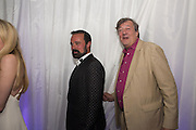 EVGENY LEBEDEV; STEPHEN FRY, V & A Summer party. South Kensington. London. 22 June 2016