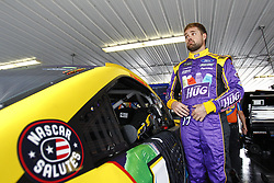 June 1, 2018 - Long Pond, Pennsylvania, United States of America - Ricky Stenhouse, Jr (17) hangs out in the garage during practice for the Pocono 400 at Pocono Raceway in Long Pond, Pennsylvania. (Credit Image: © Justin R. Noe Asp Inc/ASP via ZUMA Wire)
