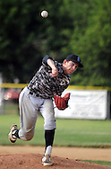 LOWER SOUTHAMPTON, PA - JULY 12: Bensalem pitcher Nick Mulvey throws a pitch against Northampton in the first inning at Kopper Kettle Field July 12, 2014 in Lower Southampton, Pennsylvania.  (Photo by William Thomas Cain/Cain Images)