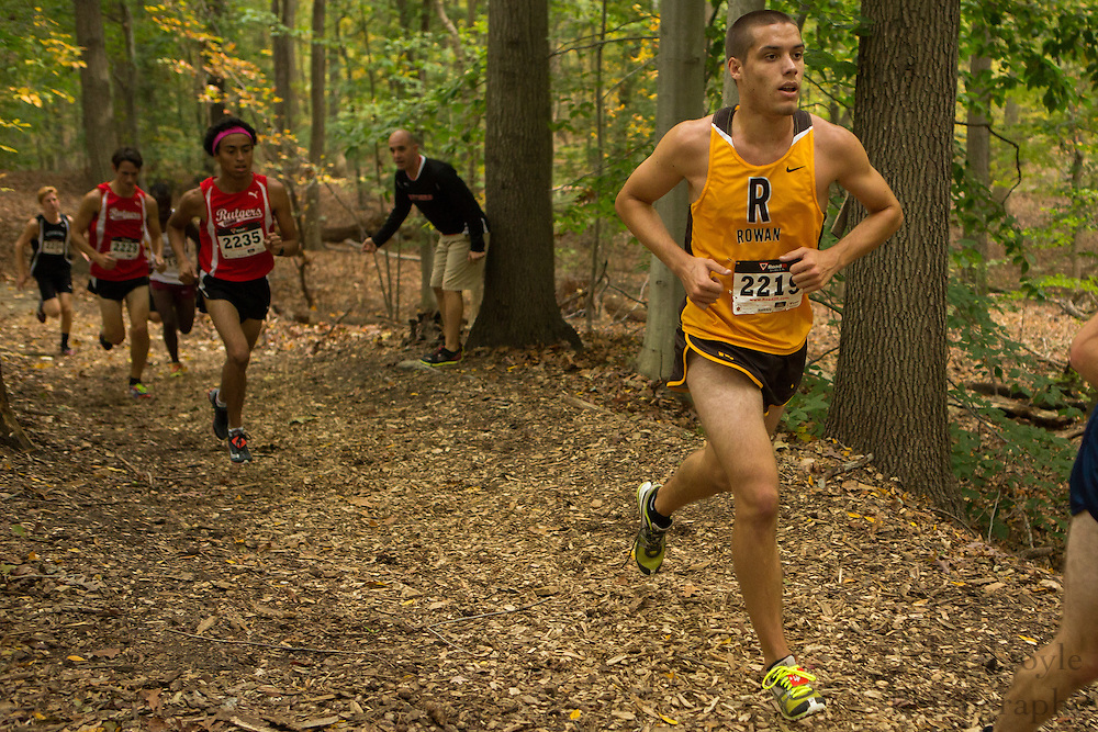 Rowan University David Quimby - Collegiate Track Conference  Cross-Country Men's Championship at Gloucester County College in Sewell, NJ on Saturday October 19, 2013. (photo / Mat Boyle)