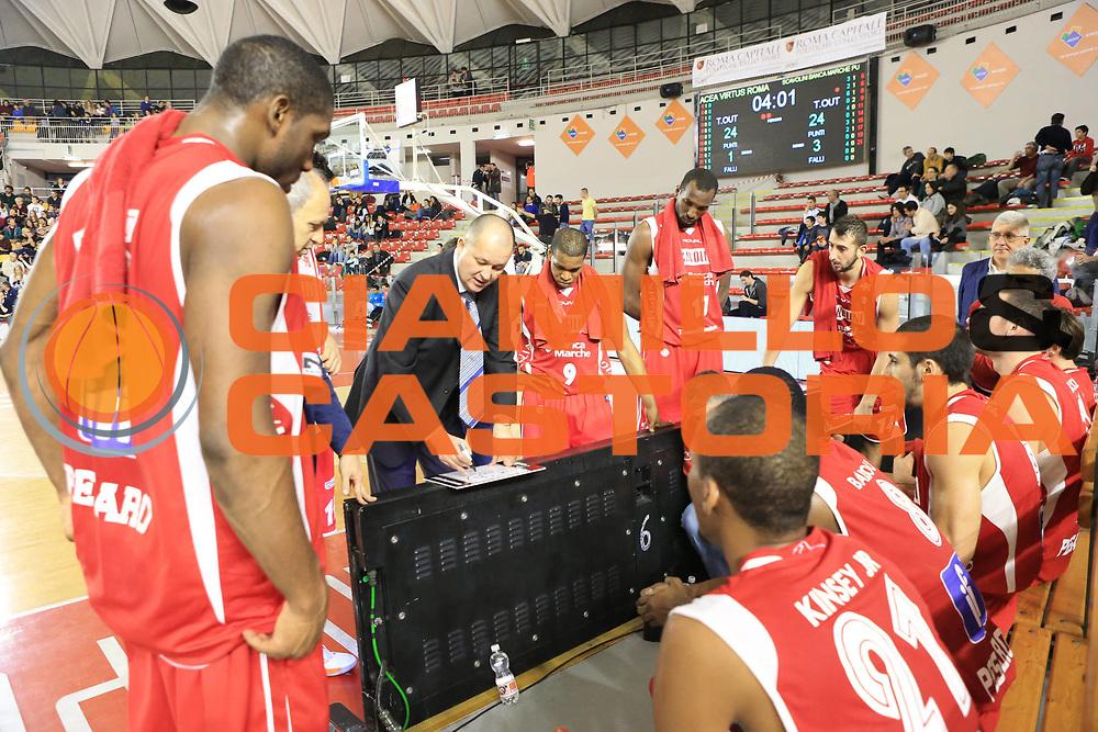 DESCRIZIONE : Roma Lega A 2012-13 Acea Roma Scavolini Banca Marche Pesaro<br /> GIOCATORE : team<br /> CATEGORIA : time out<br /> SQUADRA : Scavolini Banca Marche Pesaro<br /> EVENTO : Campionato Lega A 2012-2013 <br /> GARA : Acea Roma Scavolini Banca Marche Pesaro<br /> DATA : 20/01/2013<br /> SPORT : Pallacanestro <br /> AUTORE : Agenzia Ciamillo-Castoria/M.Simoni<br /> Galleria : Lega Basket A 2012-2013  <br /> Fotonotizia :  Roma Lega A 2012-13 Acea Roma Scavolini Banca Marche Pesaro<br /> Predefinita :
