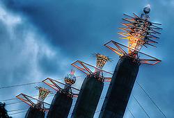 Skystations atop Kansas City's Convention Center