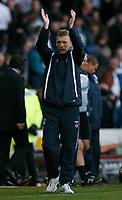 Photo: Steve Bond.<br />Derby County v Everton. The FA Barclays Premiership. 28/10/2007. David Moyes celebrates
