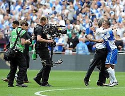Bristol Rovers Manager, Darrell Clarke - Photo mandatory by-line: Neil Brookman/JMP - Mobile: 07966 386802 - 17/05/2015 - SPORT - football - London - Wembley Stadium - Bristol Rovers v Grimsby Town - Vanarama Conference Football