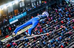 16.03.2017, Granasen, Trondheim, NOR, FIS Weltcup Ski Sprung, Raw Air, Trondheim, im Bild Andreas Wellinger (GER) // Andreas Wellinger of Germany // during the 3rd Stage of the Raw Air Series of FIS Ski Jumping World Cup at the Granasen in Trondheim, Norway on 2017/03/16. EXPA Pictures © 2017, PhotoCredit: EXPA/ Tadeusz Mieczynski