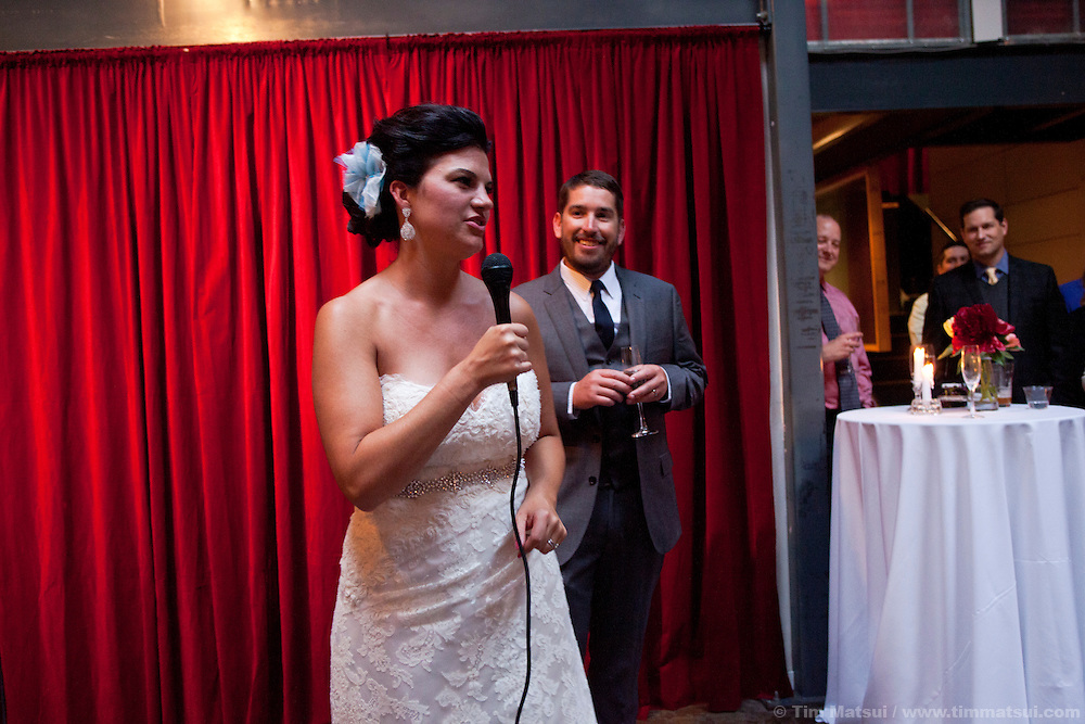 Andrea Berg and Matt Furia get married in Seattle.