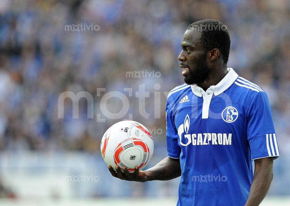 FUSSBALL   1. BUNDESLIGA   SAISON 2010/2010   29. Spieltag FC Schalke 04 - VfL Wolfsburg                               09.04.2011 Hasn SARPEI (FC Schalke)