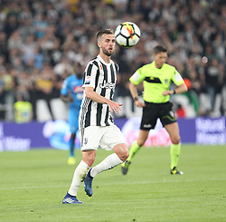 April 22, 2018 - Torino, Piemonte, Italy - in the picture: Pjanic juventus..22 April 2018 - Turin, Italy - final match between F.C. Juneventu and SSC Napoli, at the Allianz Stadium in Turin, which is awarded the Scudetto in Serie A in Italy..Napoli wins 1-0. (Credit Image: © Fabio Sasso/Pacific Press via ZUMA Wire)