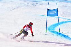 SANA Eleonor B2 BEL Guide: SANA Chloe competing in ParaSkiAlpin, Para Alpine Skiing, Super G at PyeongChang2018 Winter Paralympic Games, South Korea.