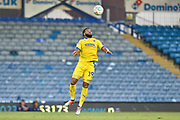 AFC Wimbledon Midfielder, Tom Soares (19) get the ball under control during the Carabao Cup match between Portsmouth and AFC Wimbledon at Fratton Park, Portsmouth, England on 14 August 2018.