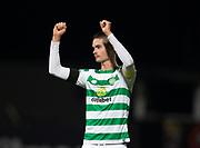 31st October 2018, Kilmac Stadium, Dundee, Scotland; Ladbrokes Premiership football, Dundee v Celtic; Mikael Lustig of Celtic at the end