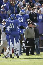 The University of Kentucky hosted the University of Georgia, Saturday, Nov. 08, 2008 at Commonwealth Stadium in Lexington. Georgia won 42-38.