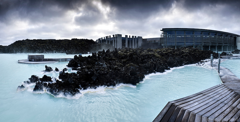 The Blue Lagoon geothermal spa is one of the most visited attractions in Iceland. The warm waters are rich in minerals like silica and sulphur.The lagoon is fed by the water output of the nearby geothermal power plant Svartsengi and is renewed every 2 days.