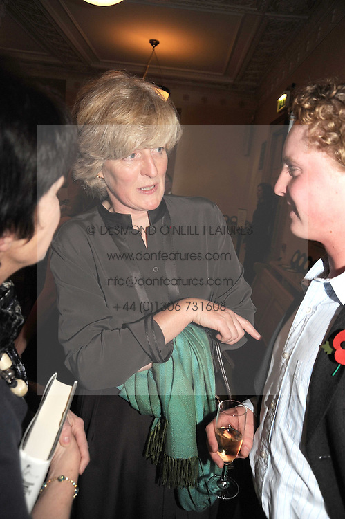 LADY SARAH FELLOWES at a party to celebrate the publication of 'Past Imperfect' by Julian Fellowes held at Cadogan Hall, 5 Sloane Terrace, London SW1 on 4th November 2008.