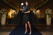TOKYO, JAPAN - SEPTEMBER 18:  Garbine Muguruza of Spain poses for a portrait prior to attending the players' party during day one of the Toray Pan Pacific Open Tennis at Grand Nikko Hotel on September 18, 2017 in Tokyo, Japan.  (Photo by Matt Roberts/Getty Images) *** Local Caption *** Garbine Muguruza