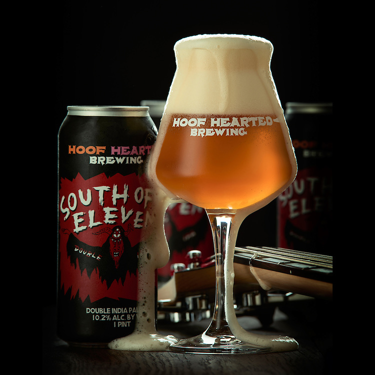 Hoof Hearted Brewing, South of Eleven Imperial India Pale Ale.