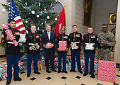 2017-12-21 Toys for Tots gift wrapping