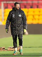 FODBOLD: Cheftræner Christian Lønstrup (FC Helsingør) under træningskampen mellem FC Nordsjælland og FC Helsingør den 20. januar 2017 i Farum Park. Foto: Claus Birch