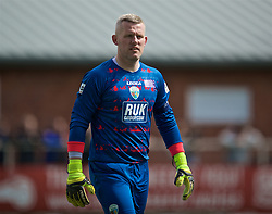 RHOSYMEDRE, WALES - Sunday, May 5, 2019: The New Saints' captain goalkeeper Paul Harrison during the FAW JD Welsh Cup Final between Connah's Quay Nomads FC and The New Saints FC at The Rock. (Pic by David Rawcliffe/Propaganda)