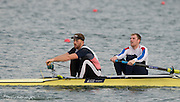 Caversham, United Kingdom. Left Will STACH and George NASH, 2015 GBRowing Team, December Trials at the Training Base Nr Reading.<br /> <br /> Saturday  19/12/2015<br /> <br /> [Mandatory Credit; Peter SPURRIER/ntersport Images] [Mandatory Credit; Peter SPURRIER/Intersport Images]