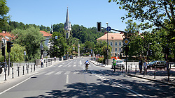 Cycler at Hervisov rekreativni kronometer before prologue (17,8km) of Tour de Slovenie 2012, on June 17 2012, in Ljubljana, Slovenia. (Photo by Matic Klansek Velej / Sportida.com)