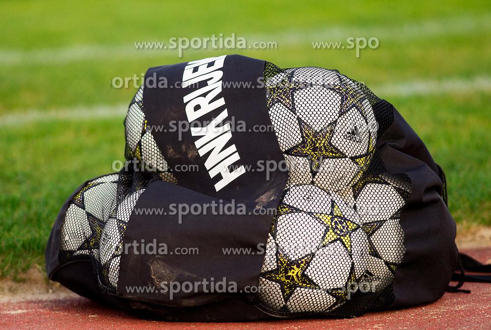 Balls during Friendly football match between NK Triglav and HNK Rijeka on June 25, 2013 in Sports park Kranj, Slovenia. (Photo by Vid Ponikvar / Sportida.com)