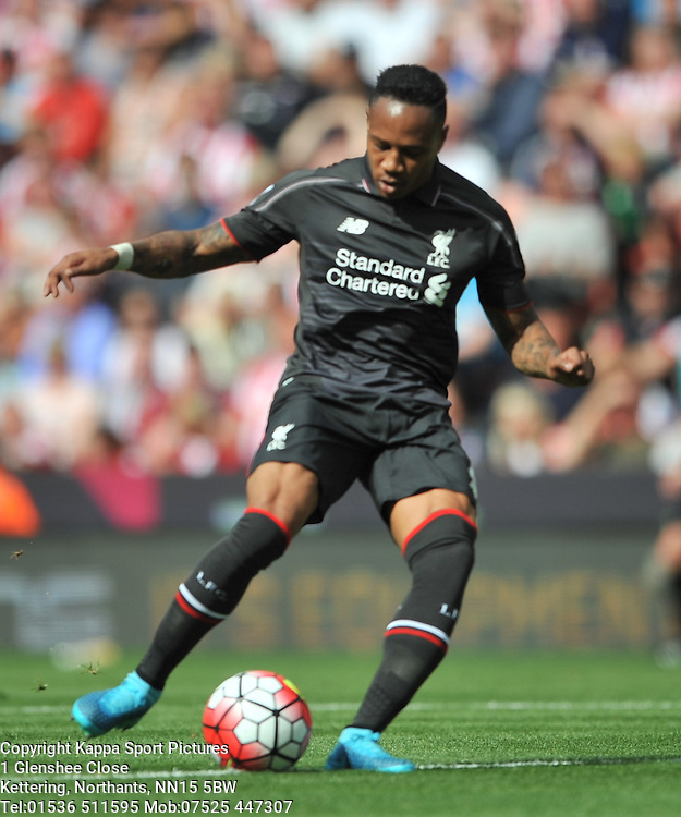 NATHANIEL CLYNE LIVERPOOL, Stoke City v Liverpool, Premiership, Britannia Stadium Sunday 9th August 2015