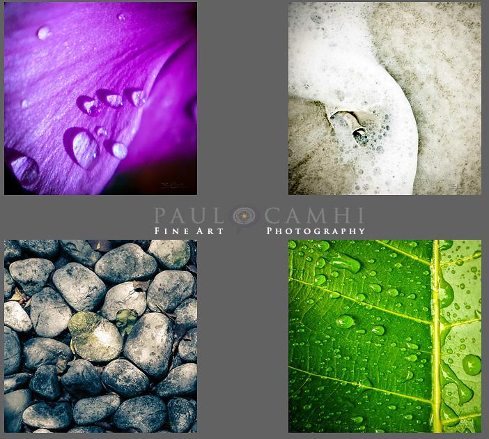 Cuadrípticos fine art photography, Paul Camhi