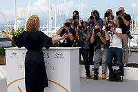 Actress Eva Melander at the Grans (Border) film photo call at the 71st Cannes Film Festival, Friday 11th May 2018, Cannes, France. Photo credit: Doreen Kennedy
