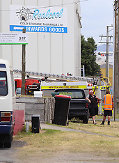 Tauranga-Cordon around ammonia leak, Triton Avenue, Mt Maunganui