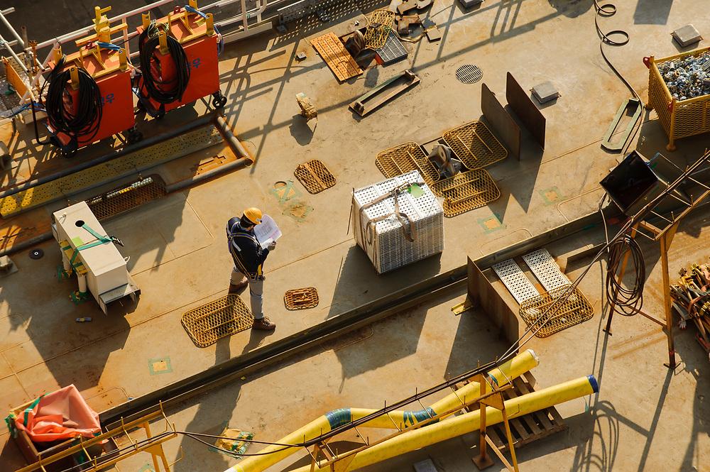 Samsung Heavy Industries, Geoje, South Korea.