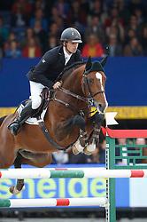 Houwen Kristian (NED) - Dortmund HS<br /> Final 6 years<br /> FEI World Breeding Jumping Championships for Young Horses - Lanaken 2014<br /> © Dirk Caremans