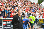 Marcelo Bielsa of Leeds United (Manager) during the EFL Sky Bet Championship match between Bristol City and Leeds United at Ashton Gate, Bristol, England on 4 August 2019.