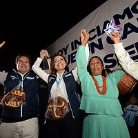 Atlacomulco, México (Abril 03, 2017).- Josefina Vázquez Mota, candidata del PAN a la gubernatura del Estado de México arranco su campaña en Atlacomulco . Agencia MVT / Crisanta Espinosa