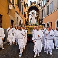 """Processione in onore della Madonna del Carmine detta """"de' Noantri"""". 2015"""