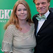 NLD/Scheveningen/20111106 - Premiere musical Wicked, Maarten van Nispen en partner