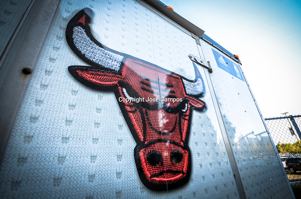 United Center, Chicago Bulls logo
