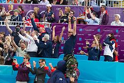 Team Great Britain celebrating<br /> Olympic Games London 2012<br /> © Dirk Caremans