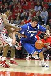 02 January 2013:   during an NCAA Missouri Vally Conference (MVC) mens basketball game between the Creighton University Bluejays and the Illinois State Redbirds in Redbird Arena, Normal IL